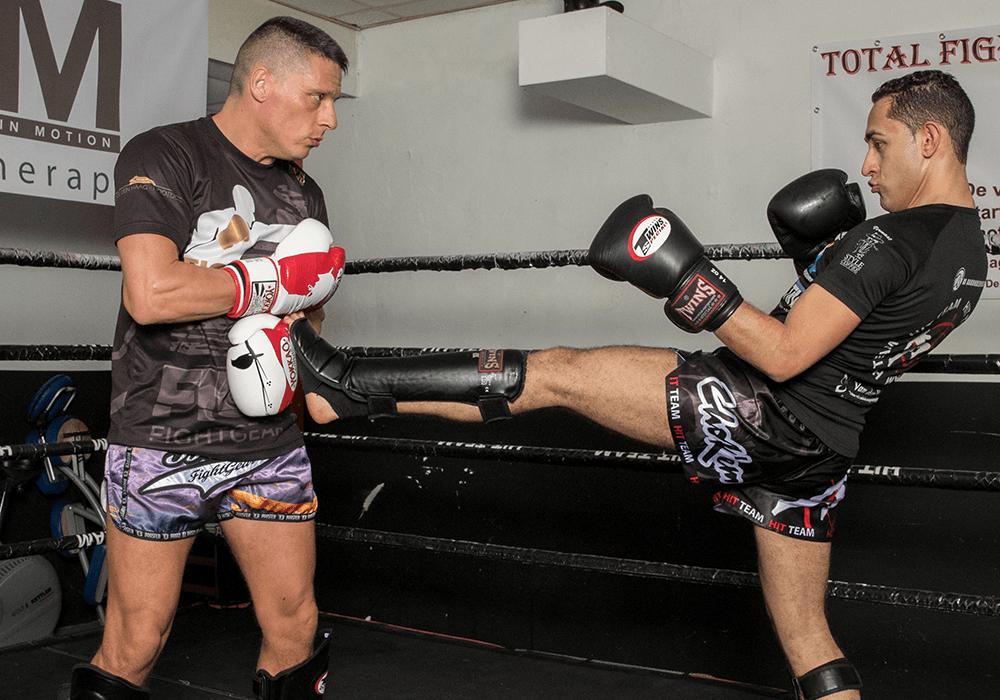 personal training kickboksen