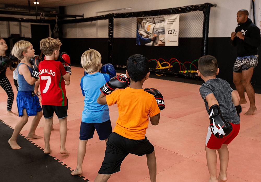 Kickboksen voor kinderen Den Haag