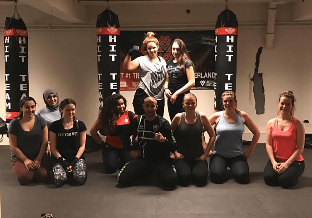 kickboksen voor vrouwen